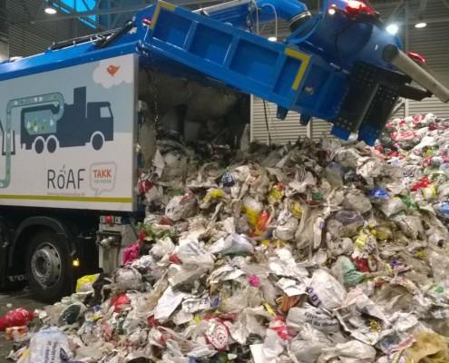 Müllsauger WASUC Müllhalde